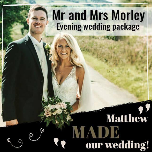 dj and wedding singer Sheffield