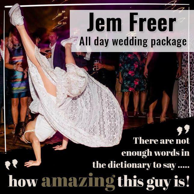professional wedding singer Leeds, West Yorkshire